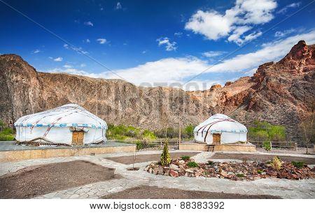 Urta Nomadic Houses