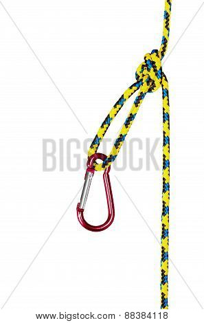 Climbing Equipment Isolated