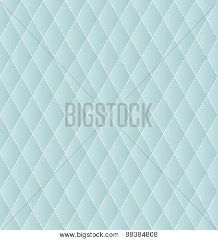 Rhombus geometric abstract background seamless vector. Dashed outline.