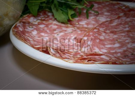 Salami And Ingradients