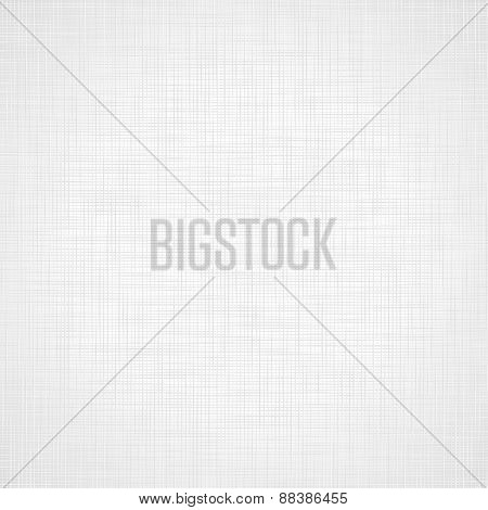 Vector Illustration Of Realistic Linen Texture