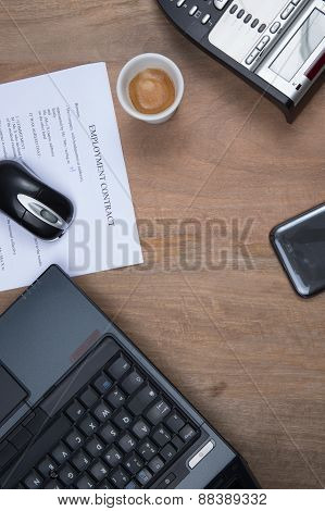 Office Buisness, Documents, Contract,  Reporting At Work