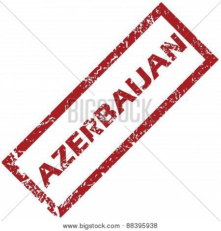 New Azerbaijan rubber stamp