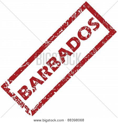 New Barbados rubber stamp