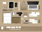 picture of letterhead  - Stylish corporate identity kit for business including Letterhead - JPG