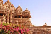 stock photo of khajuraho  - Devi Jagdambi Temple - JPG
