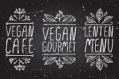 stock photo of vegan  - Hand - JPG