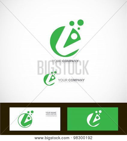 Corporate Green Abstract Circle Logo