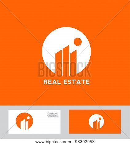 Real Estate Abstract Building Logo