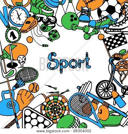 Sport Sketch Frame