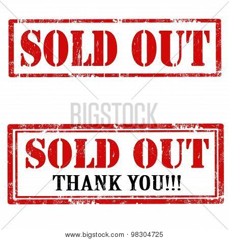 Sold Out-stamps