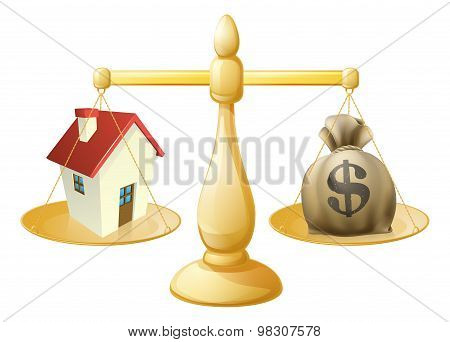 House Money Sack Scales