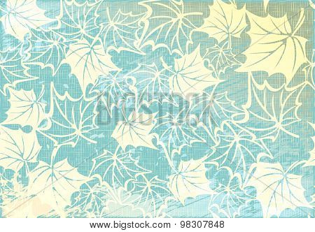 Vector pattern of a beautiful autumn background