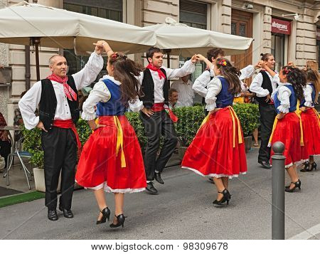 Folk Dance Ensemble From Romagna, Italy