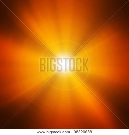 gold  metal with light background