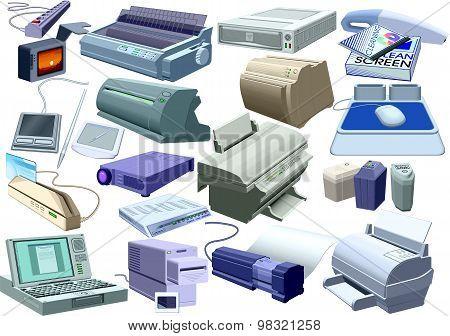 Set - Computer World (all Printable) [