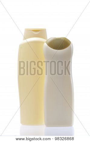 Shower Gel Isolated On White Background..