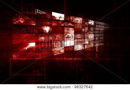 Data Management Technology and Big Data as Art