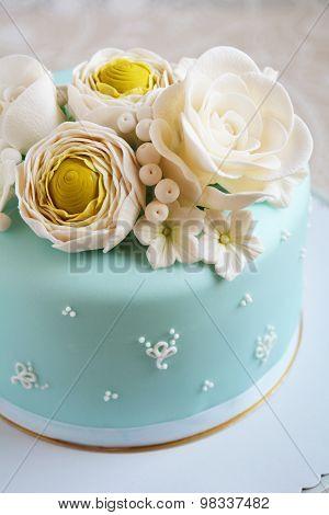 Gorgeous blue cake