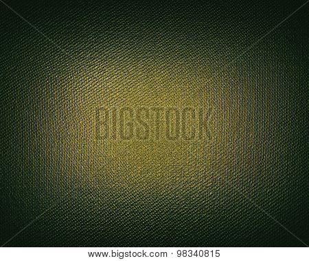 Green Background With Gold Scuffed. Element For Design. Template For Design. Copy Space For Ad Broch