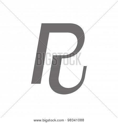 Letter R Logo Concept Icon. Vector
