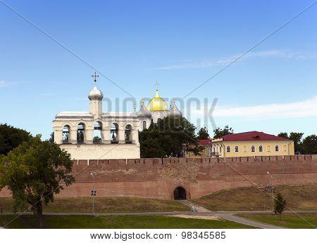 Kremlin Great Novgorod Russia