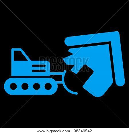 Demolition icon from Business Bicolor Set