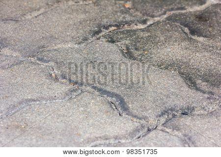 Gray Footway Bar Closeup