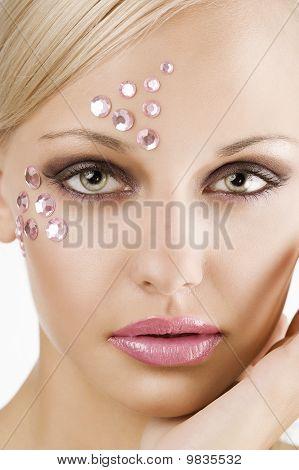 Pink Crystal Girl