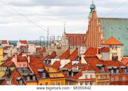 Warsaw. Castle Square.