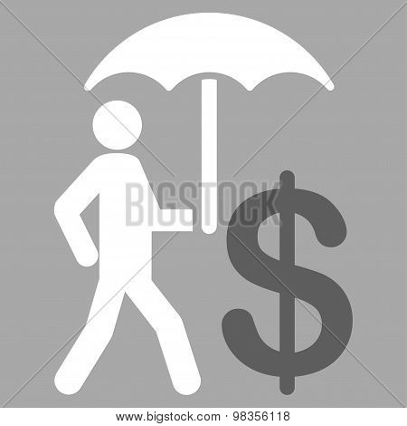 Umbrella icon from Business Bicolor Set