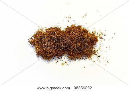 Tobacco Pile Isolated