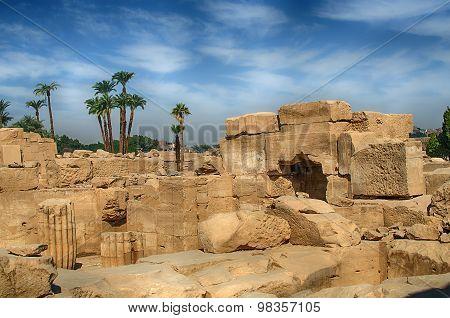 Karnak in Luxor (Thebes), Egypt