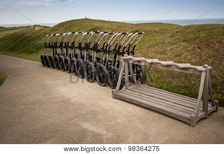 golf pull carts