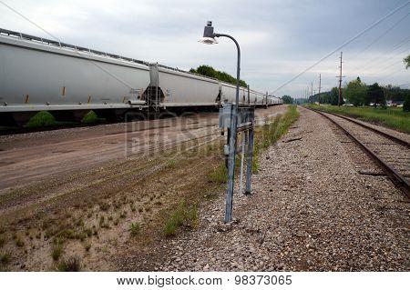 Railway Lamp Post