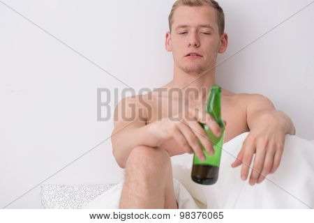 Drinking Beer In The Morning