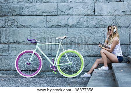 Active Woman Enjoying Holiday