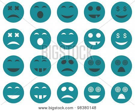Smile and emotion icons