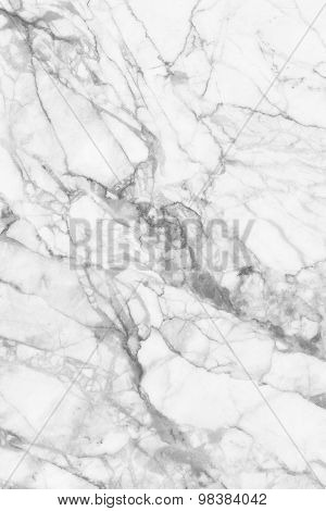 White (gray) marble texture, detailed structure of marble in natural patterned for design.