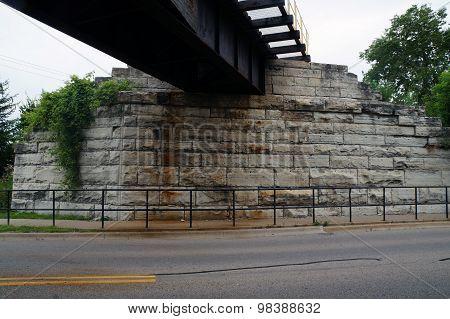 Under a Railway Bridge