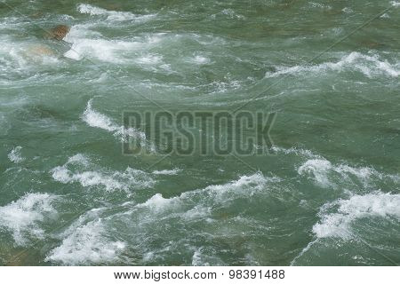 Rough Turbulent Seawater