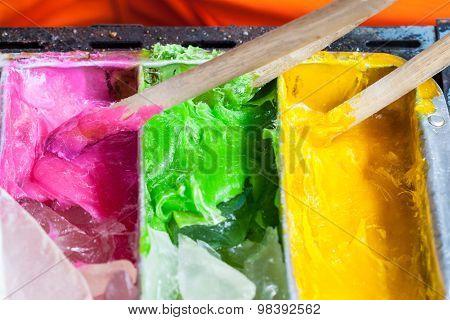 Colorful Sugar Confectionery