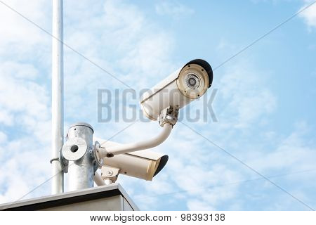 Cctv Or Surveillance Camera For Protection