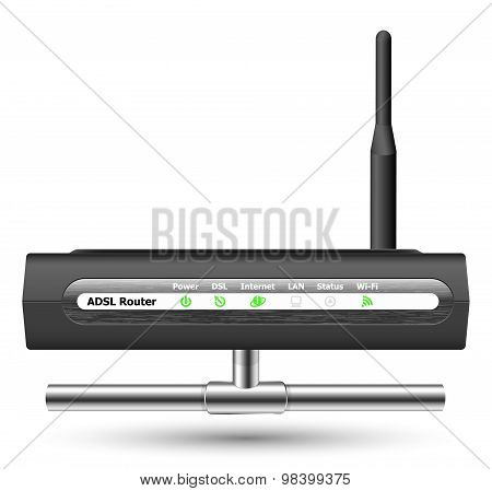 Wireless Adsl Router Icon