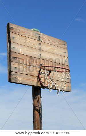 Wooden Basketball Hoop