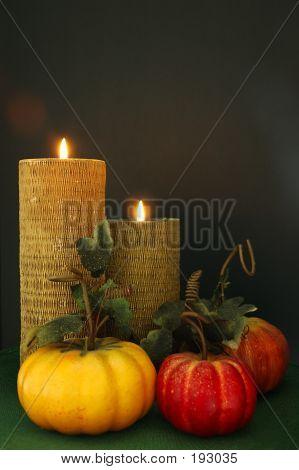Thanksgiving Tisch Dekor