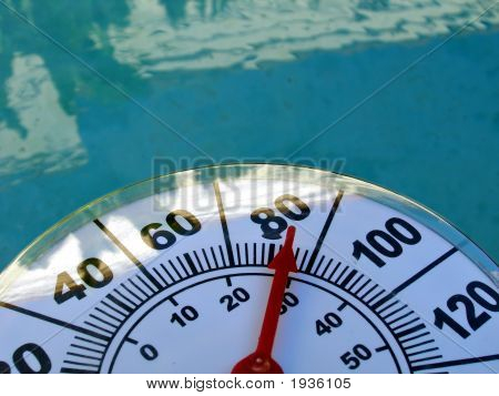 Thermometer Against Water