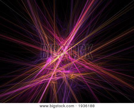 Pink Line Burst