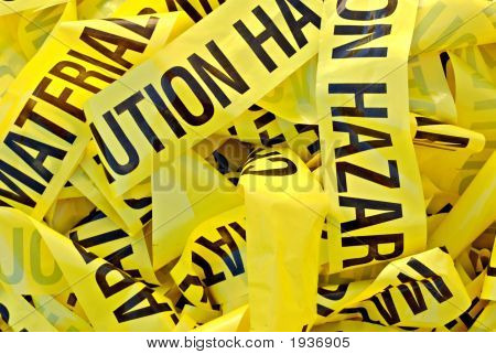 Hazardous Material Tape