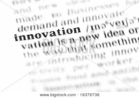 Innovation (the Dictionary Project)